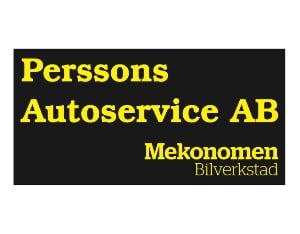 Perssons Autoservice AB dekal 50x25cm